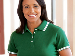 Womens, Polos, Sweaters, Knits, Embroidery, Screen Printing, Pensacola - Logo Masters International